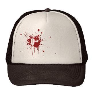 O Positive Blood Type Donation Vampire Zombie Cap
