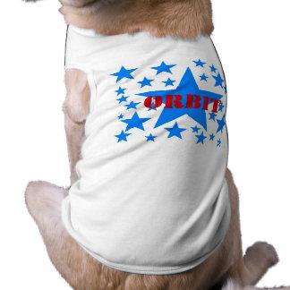 O ~ RANDOM BLUE STARZ PERSONALIZED PET DOG T-SHIRT