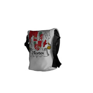 O Rearden Family Crest Courier Bags