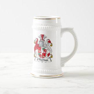 O Riordan Family Crest Mugs
