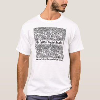 O.S.H.H.Pencil Sketch Mens T-1 T-Shirt