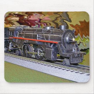 O Scale Model Train Mouse Mat