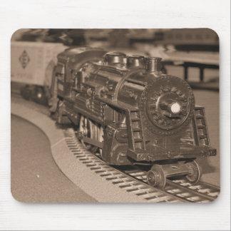 O Scale Model Train - Sepia Tone Mouse Mat