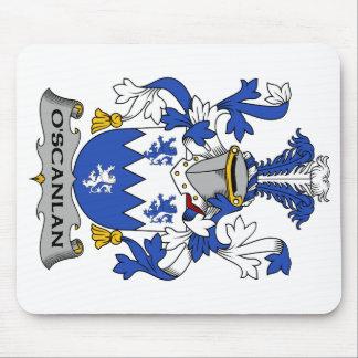 O Scanlan Family Crest Mousepads