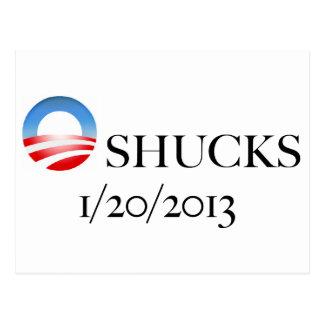 O-shucks Postcard