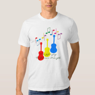 O sing for joy to God our strength Tshirts