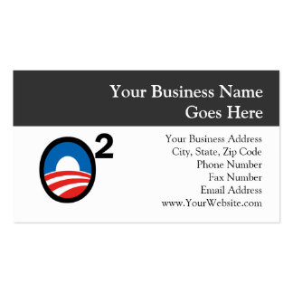 O Squared Obama s Second Term Business Cards