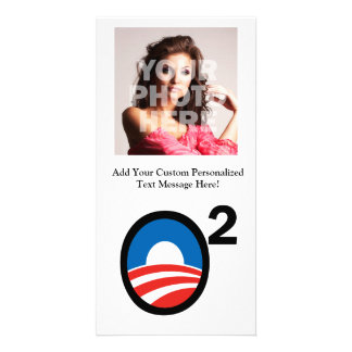 O Squared Obama s Second Term Customized Photo Card