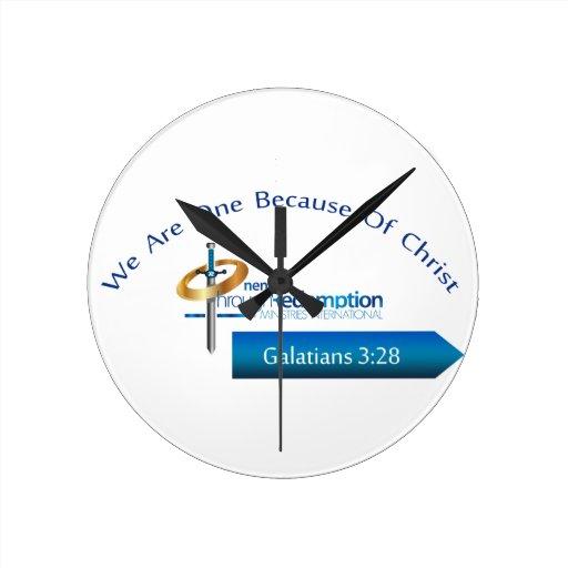 O.T.R. Ministries Int'l Products Wall Clock