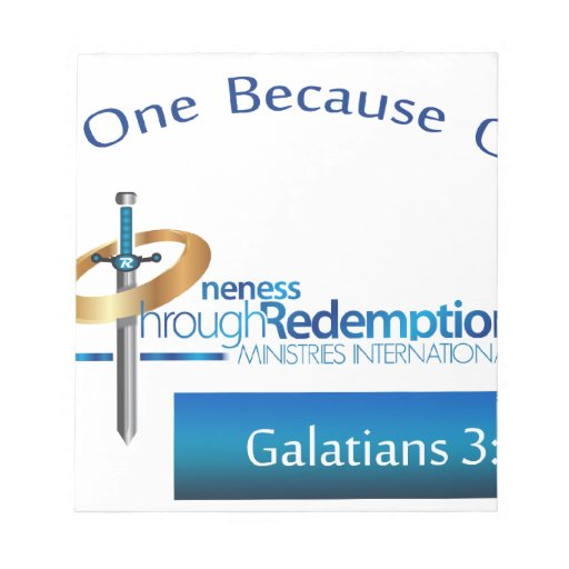O.T.R. Ministries Int'l Products Notepad