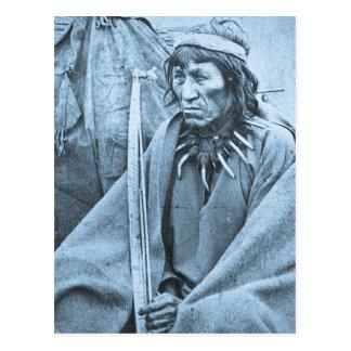 O-Ta-Dan Sioux Indian Post Card
