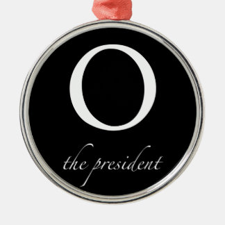 O | the president christmas ornament