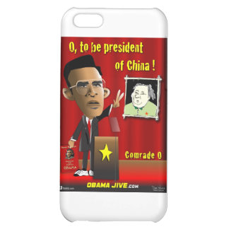 O to be President of China Case For iPhone 5C