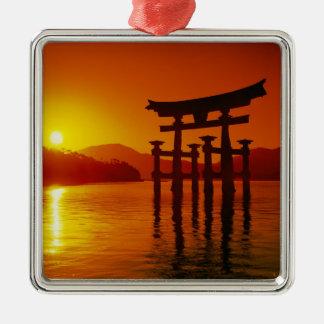 O-Torii Gate, Itsukushima shrine, Miyajima, Christmas Ornament