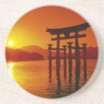 O-Torii Gate, Itsukushima shrine, Miyajima, Coasters