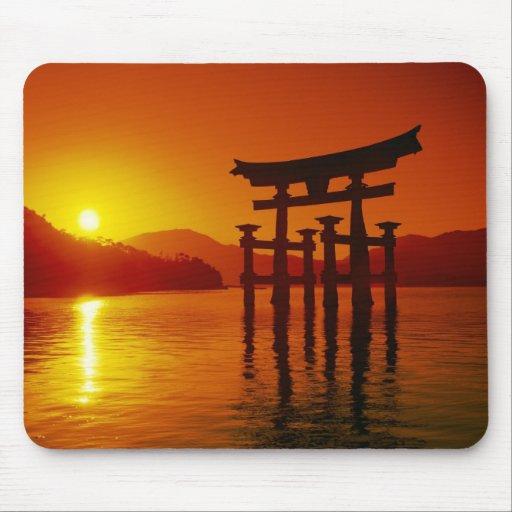 O-Torii Gate, Itsukushima shrine, Miyajima, Mousepad