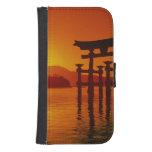 O-Torii Gate, Itsukushima shrine, Miyajima, Phone Wallets