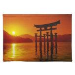 O-Torii Gate, Itsukushima shrine, Miyajima, Placemats