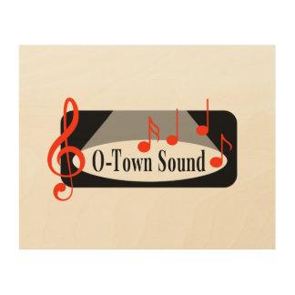 O-Town Sound Wall Art