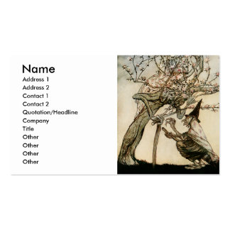 O Tree of Mine Pack Of Standard Business Cards