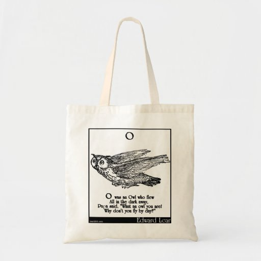 O was an Owl who flew Bags