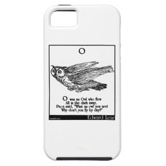 O was an Owl who flew iPhone 5 Cases