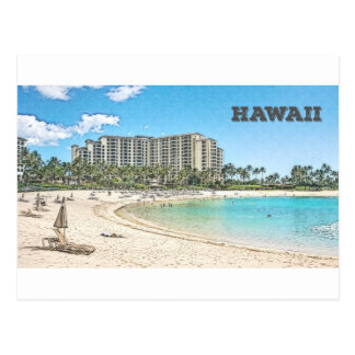 Oahu, Hawaii Postcard