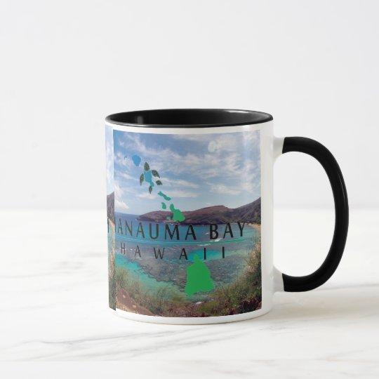 Oahu Island Turtle Mug