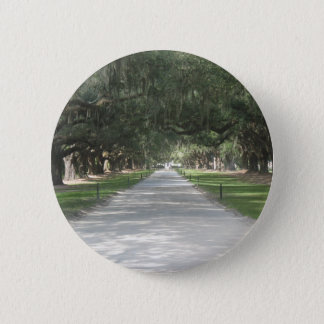 Oak Alley at Boone Hall, Charleston SC Button