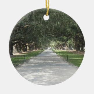 Oak Alley at Boone Hall, Charleston SC Ornament