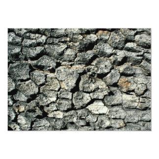 Oak bark, Indian Grinding Rock State Park, Califor 13 Cm X 18 Cm Invitation Card