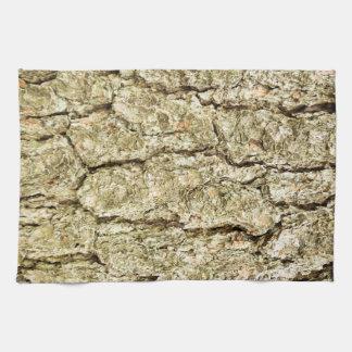 Oak Bark Tea Towel