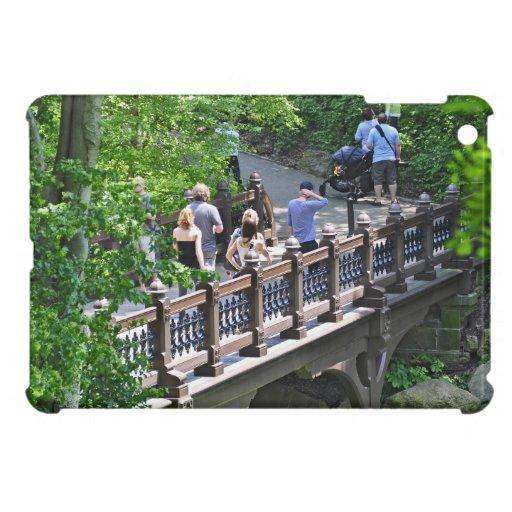 Oak Bridge at Bank Rock Bay, Central Park iPad Mini Cases