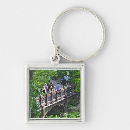 Oak Bridge at Bank Rock Bay, Central Park Key Chains
