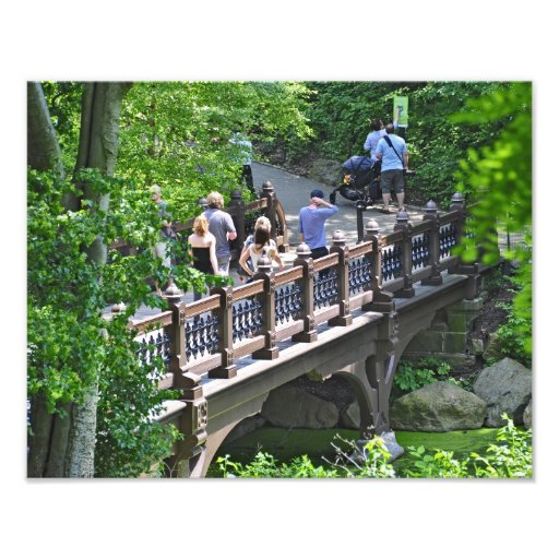 Oak Bridge at Bank Rock Bay, Central Park Photograph