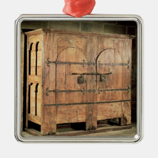 Oak chest of drawers christmas ornament
