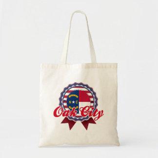 Oak City NC Tote Bag