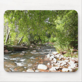 Oak Creek II in Sedona Arizona Nature Photography Mouse Mat