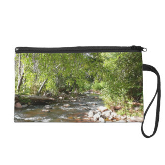 Oak Creek II in Sedona Arizona Nature Photography Wristlet