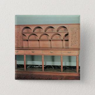 Oak Dresser 15 Cm Square Badge
