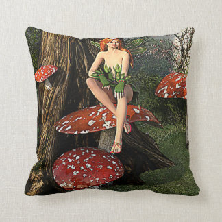 Oak Fairy pillow