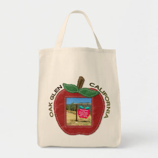 Oak Glen/California Grocery Tote! Tote Bag