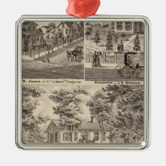 Oak Grove Farm residence of George Nebeker Christmas Ornament