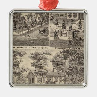 Oak Grove Farm residence of George Nebeker Christmas Ornament