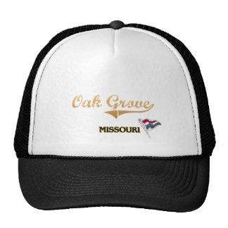 Oak Grove Missouri City Classic Mesh Hats