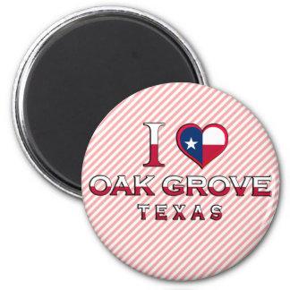 Oak Grove, Texas Fridge Magnet