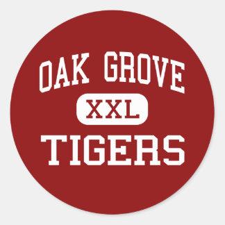 Oak Grove - Tigers - High - Bessemer Alabama Stickers