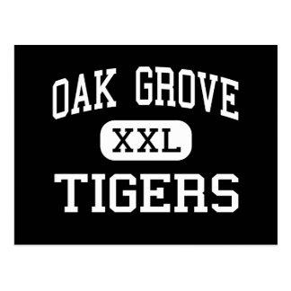 Oak Grove - Tigers - High - Oak Grove Louisiana Postcard