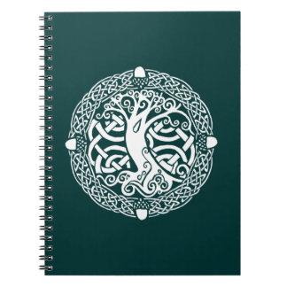 Oak in Snow Notebook