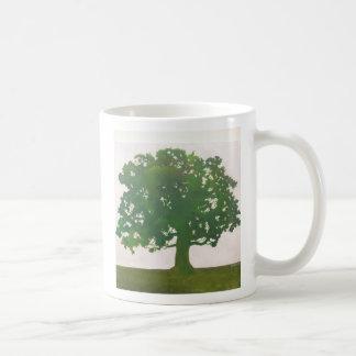 Oak in Spring Coffee Mugs